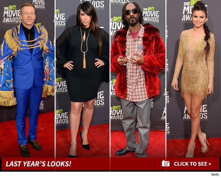 2013 MTV MOVIE AWARDS -- The Fashion Photos!
