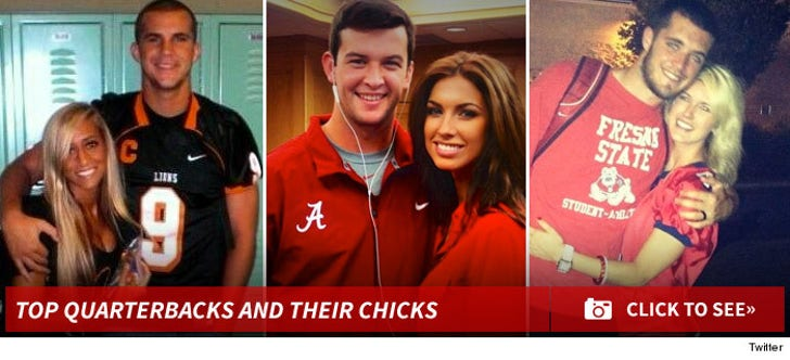 Top QB's and their Girlfriends