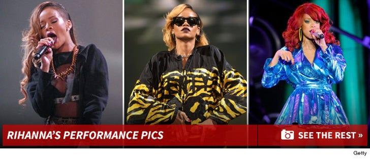 Rihanna -- Performance Photos