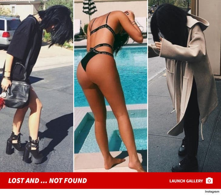 24 Times Kylie Jenner Couldn't Find Something