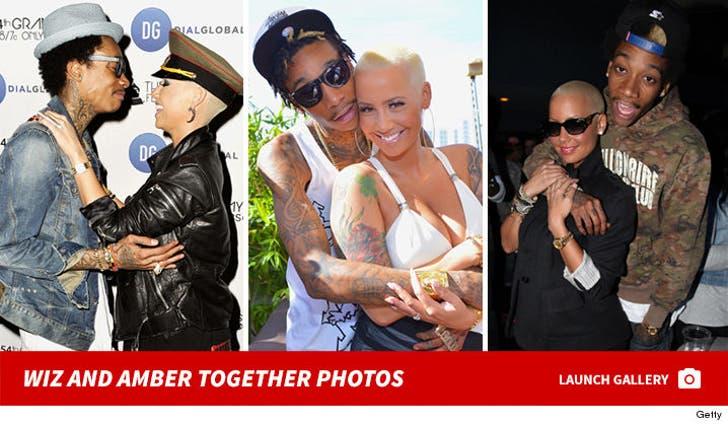 Wiz Khalifa and Amber Rose -- Before the Split