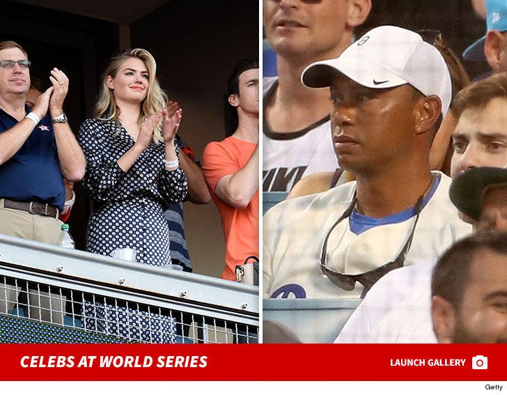 Stars at the Dodgers vs. Astros World Series