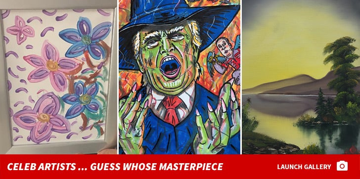 Celebrity Artists -- Guess Whose Masterpiece!