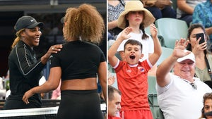 Serena Williams Plays In Front of Maskless Crowd at Australian Open, No COVID Here!