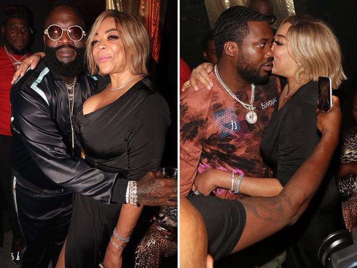 Wendy Williams Parties With Rick Ross and Meek Mill at Album Release Party