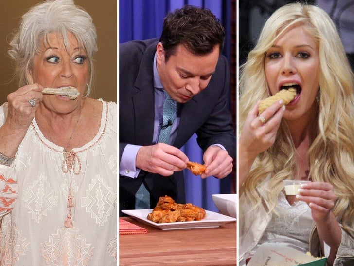 Stars Eating Chicken