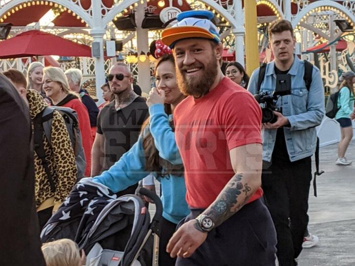 Conor McGregor Visits Disneyland