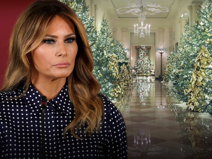 Melania Trump Plans to Decorate White House for Christmas One Last