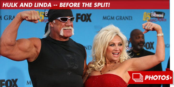 Hulk Hogan and Linda -- Before the Split!