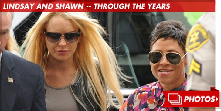 Lindsay Lohan and Shawn Holley -- Through the Years!