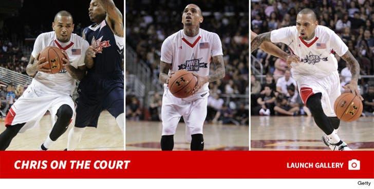 Chris Brown -- 2016 All-Star Celebrity Basketball Game