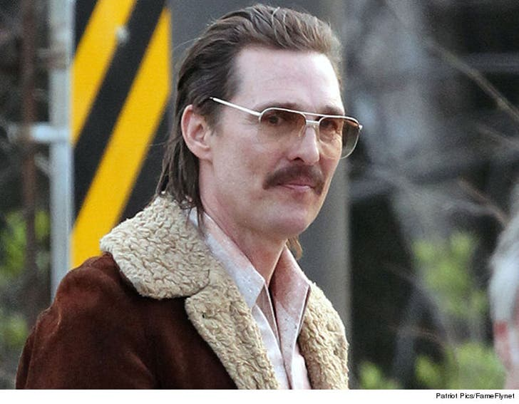 Matthew McConaughey Brings Back the Mustache for New ...