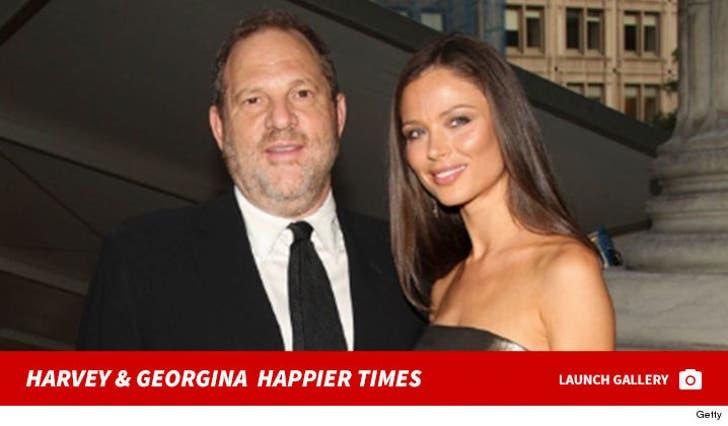 Harvey Weinstein and Georgina Chapman -- Before the Split