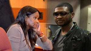 Usher's Ex-Wife -- Shut Down By Custody Judge -- Again