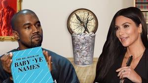 Kim Kardashian & Kanye West – Not Heading South ... With New Baby Name