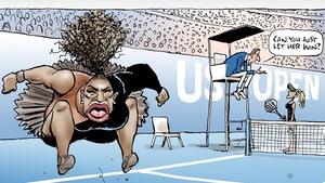 J.K. Rowling Blasts 'Racist' Serena Williams Newspaper Cartoon