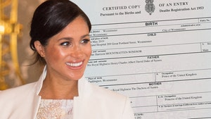 Meghan Markle Gets Promotion on Archie's Birth Certificate