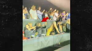 Michelle Obama Twerked on by Dancer at Christina Aguilera Show