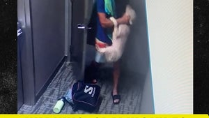 CEO Caught on Camera Hitting & Choking Dog, Employer Now Investigating