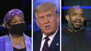President Trump Confronted by Black Voters Over Medical Care, Race at Town Hall