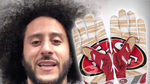 Colin Kaepernick Game-Worn, Bloodied Football Gloves Hit Auction Block