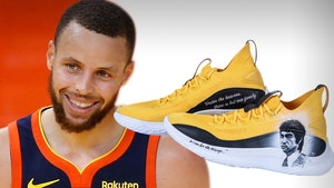Stephen Curry's Bruce Lee Tribute Sneakers Sell For $62,000 At Auction