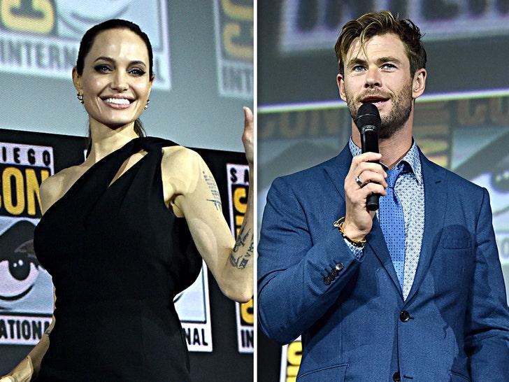 Celebs at Comic-Con 2019