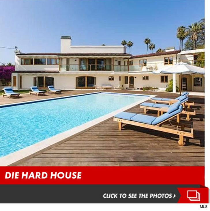 Bruce Willis' $22 Mill Beverly Hills Home