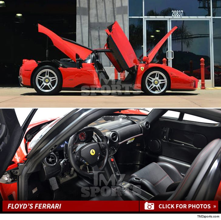 Floyd Mayweather -- Billionaire Battle Over $3.8 Mil Ferrari