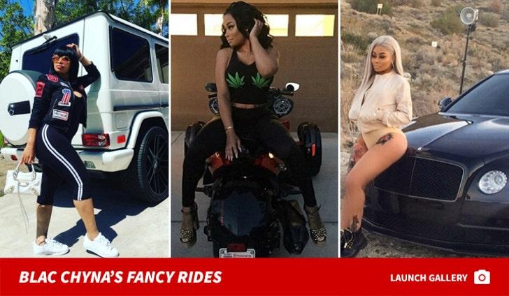 Blac Chyna's Fancy Rides