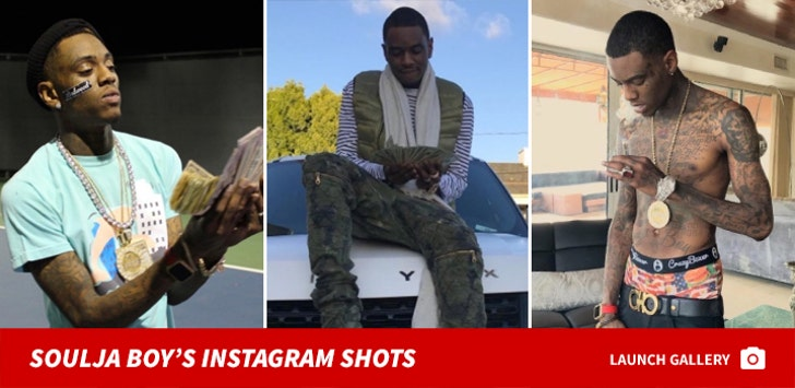 Soulja Boy's Instagram Snaps
