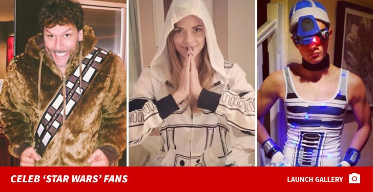 Celebrity Star Wars Fanatics!