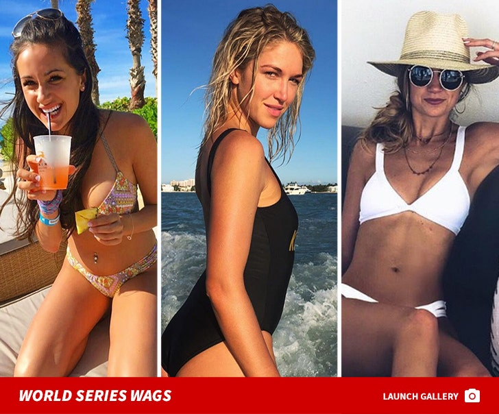 Dodgers vs. Red Sox -- World Series WAGS