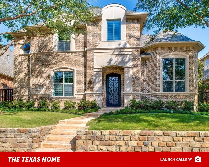 Randy Gregory's Texas Home