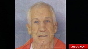 Jerry Sandusky -- The New PRISON Mug Shot