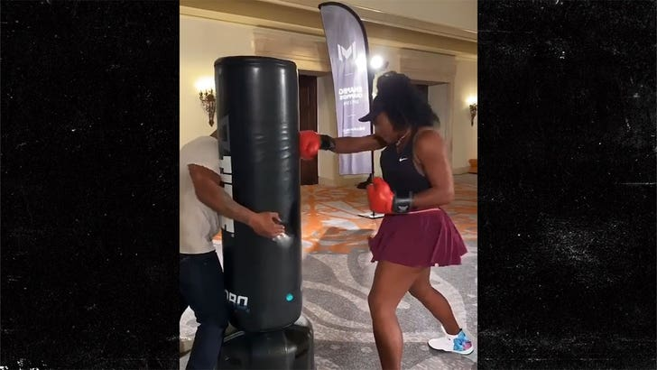 Serena Williams gets tips from Mike Tyson for 2020 slam push