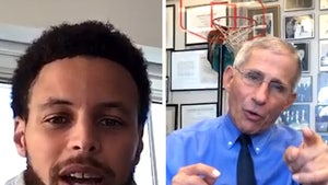 Steph Curry to Dr. Fauci, When Can We Have Sports Again?!