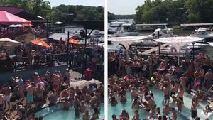 Wild Memorial Day Party At Lake of the Ozarks