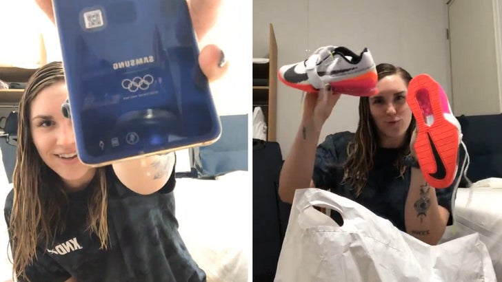 Team USA Olympian Shows Off Free Swag, Sneakers, Clothes, New Phone!.jpg