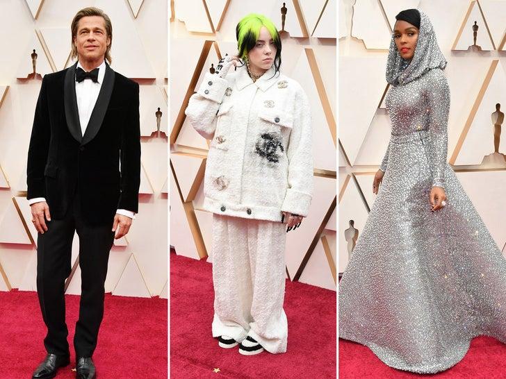 92nd Annual Academy Awards -- Stars Arriving Photos