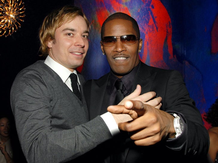 Jamie Foxx and Jimmy Fallon Together