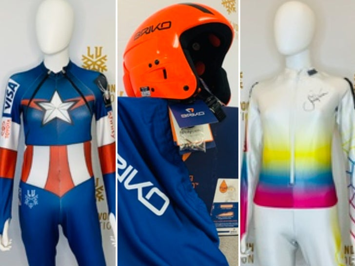 Lindsey Vonn's Ski Suits Auction