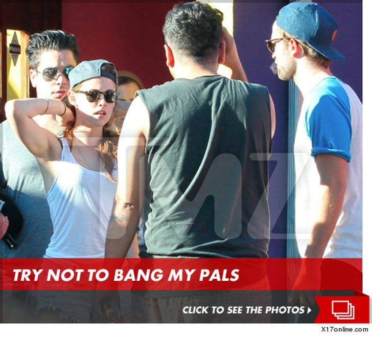 Kristen Stewart and Robert Pattinson Reunited