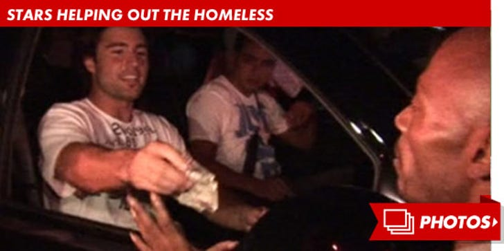 Stars Helping Out The Homeless