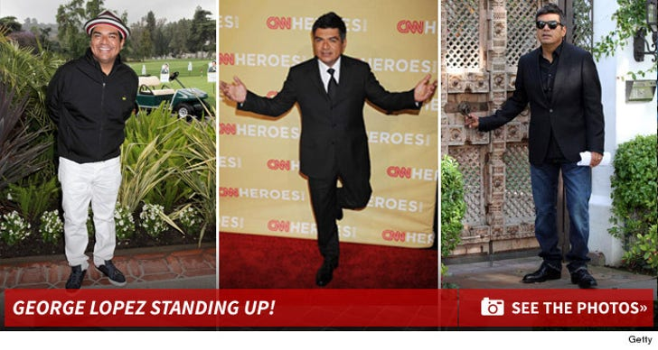 George Lopez Standing Up