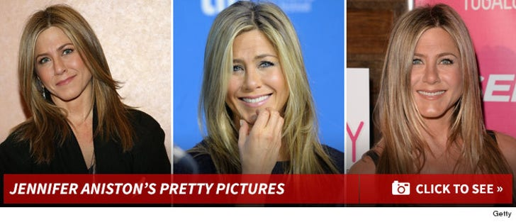 Jennifer Aniston's Pretty Pictures