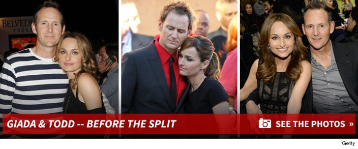 Giada de Laurentiis & Todd Thomspon -- Before the Split