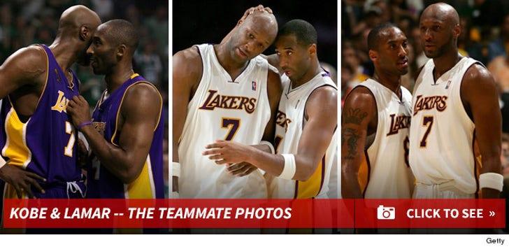 Kobe Bryant & Lamar Odom -- The Teammate Photos