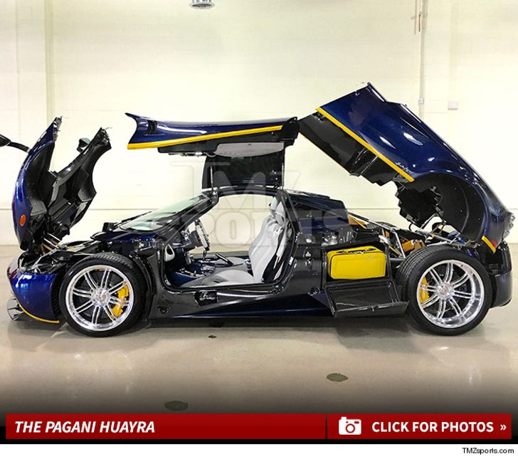 Floyd Mayweather's New Pagani Huayra Photos