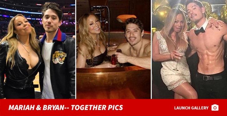 Mariah Carey and Bryan Tanaka -- Together Pics